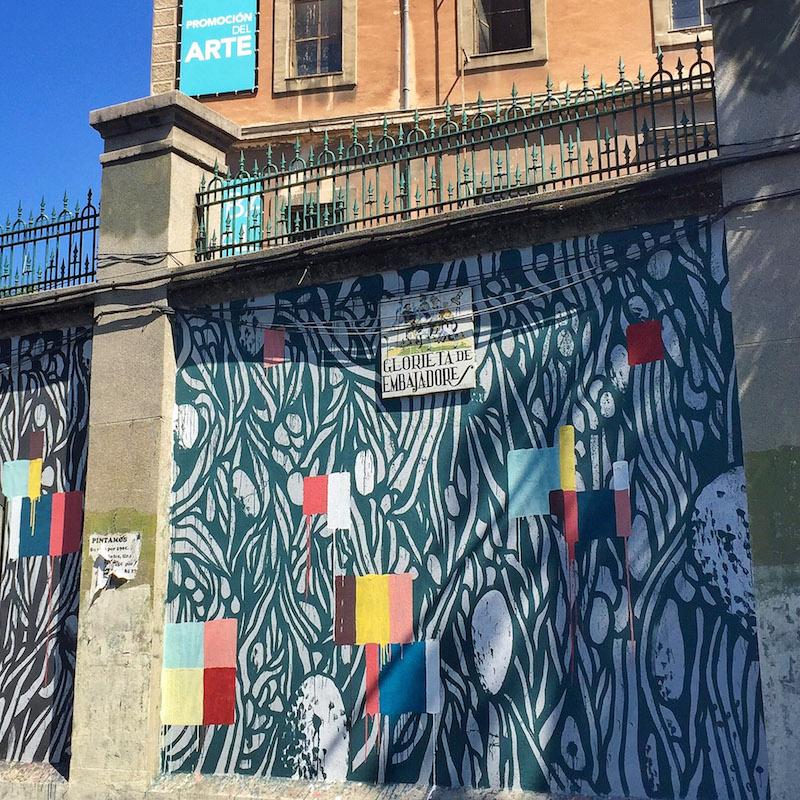 Muros tabacalera festival de arte urbano en lavapi s for Habitamos madrid