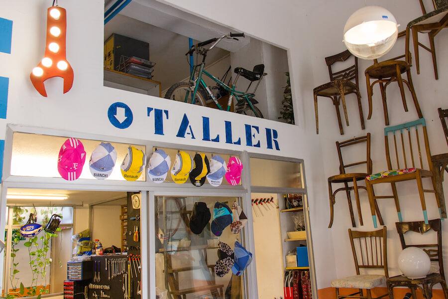 Ciclos Taller de bicis gorras de ciclista