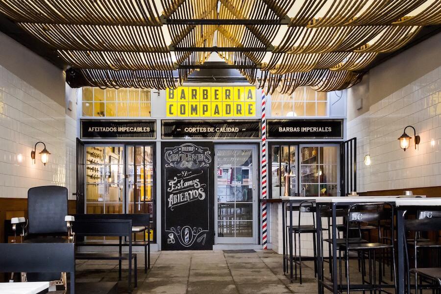 Barberia COMPADRE BARBERs club Chueca