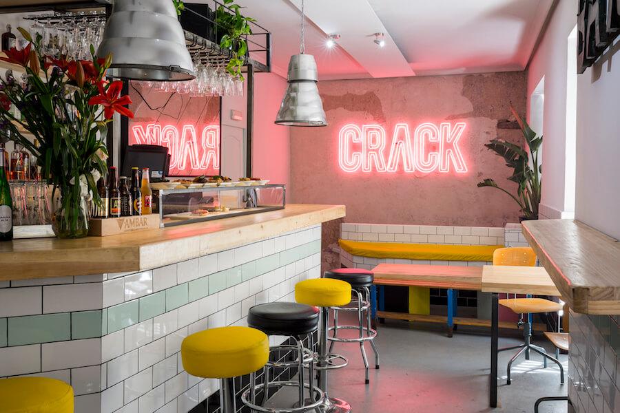 CRACK restaurante bar copas y cocteles