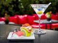 DRY MARTINI Dry Martini con nigiri de atun y mayonesa de wasabi y ceviche de pulpo
