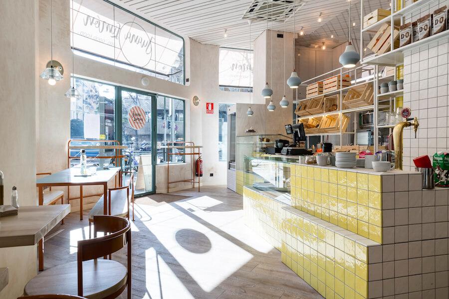 JUANA LIMON cafe gourmet en Retiro