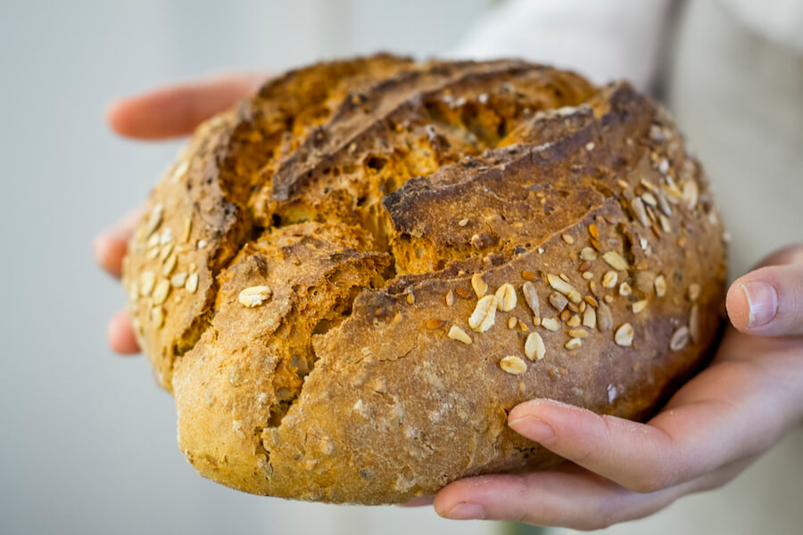 JUANA LIMON pan de masa madre