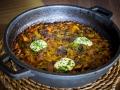 LA PRIMERA Arroz seco con verduras y setas al horno
