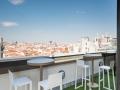 TERRAZA HOTEL EMPERADOR Gran panoramica de Madrid