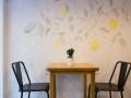 Limone mesa mural