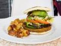 Cookaluzca Hamburguesa vegana