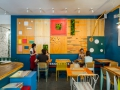 PIZZI AND DIXIE mural con minijardines verticales