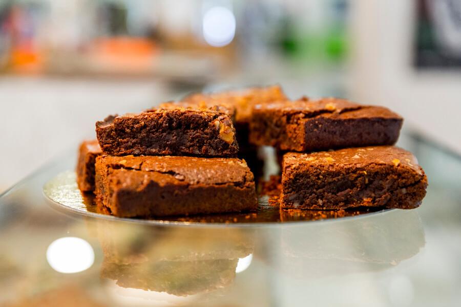 RAW COCO Bar Brownie de chocolate