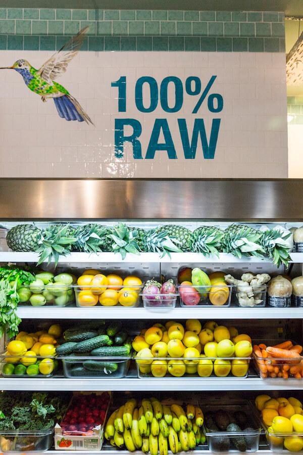 RAW COCO Bar Fruta fresca