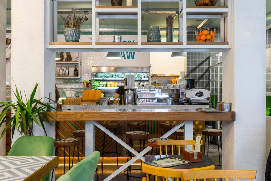 RAW COCO Bar cafe bar restaurante en Barrio Salamanca