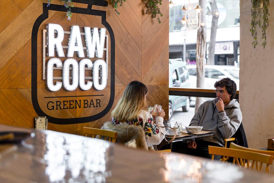 RAW COCO Bar planes detox personalizados