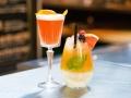 ONLY YOU Atocha Terraza Negroni sour y Coctel de sirope de frutas sin alcohol
