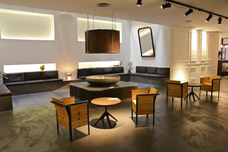 El lobby del hotel siete islas en la trasera de gran v a - Hotel 7 islas madrid ...