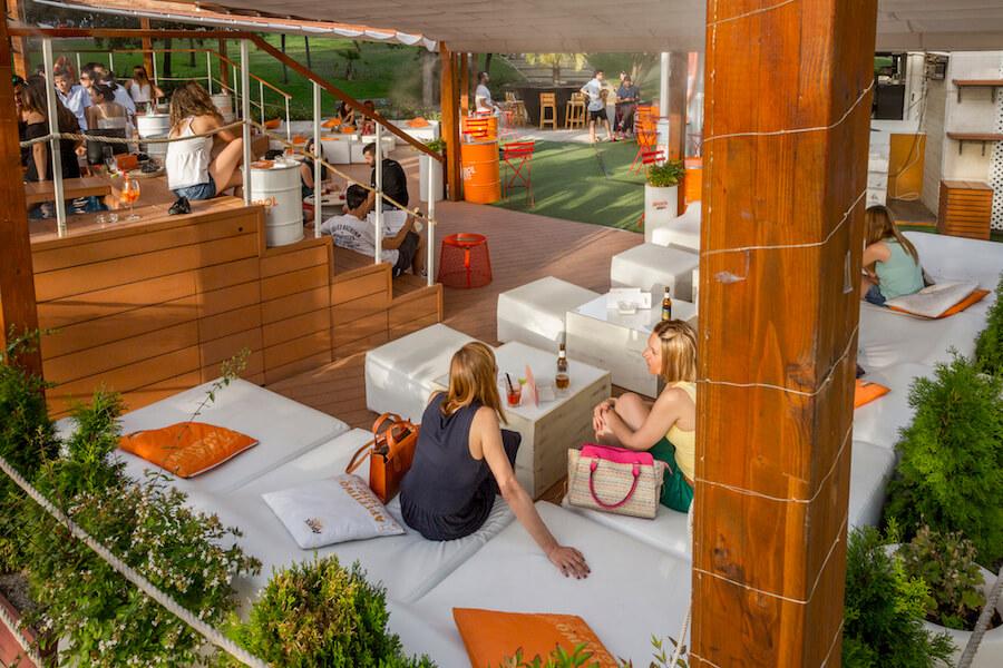 TERRAZA ATENAS terraza y zona chill out
