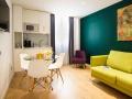 THE WALT MADRID Sala de estar habitacion