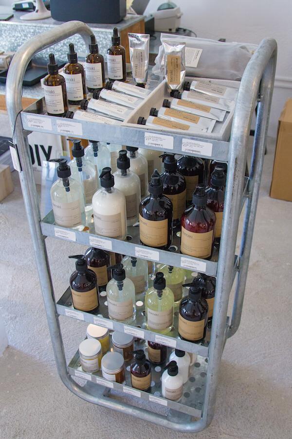 Volver productos de cosmetica Meraki