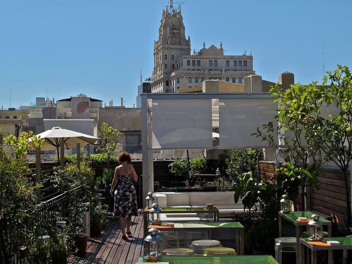 Terraza de Las Letras. Gran Vía, Madrid