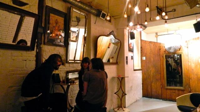 Café bar en La Latina, N del T