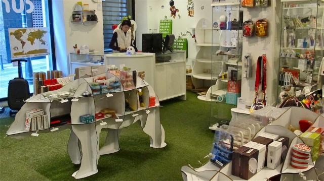 Tienda de regalos originales e ingeniosos en Madrid, Curiosite