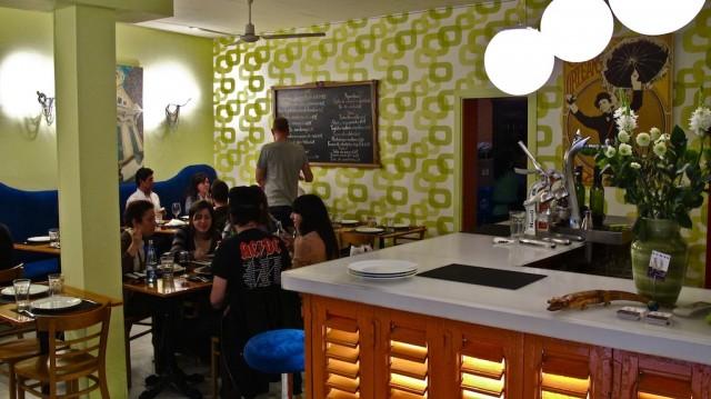 Restaurante Gumbo. Malasaña, Madrid