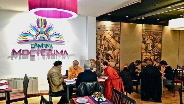 Cantina Moctezuma, restaurante mexicano en Madrid