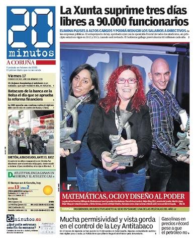 Entrevista Premios 20Blogs Martín López