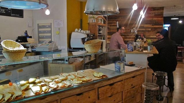 Aio, pizzeria en Malasaña