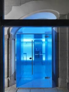 Bombay Sapphire Room, en el Instituo Europe di Design