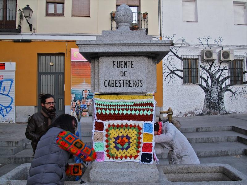 Urban Knitting en Madrid