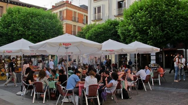 Naif Bar. Plaza de San Ildefonso, Madrid