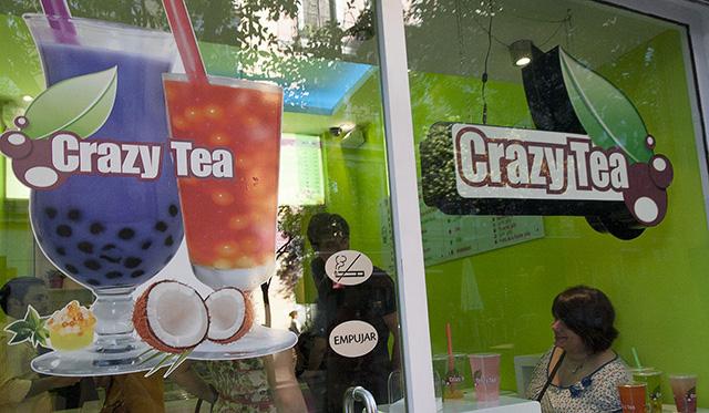 Crazy Tea Madrid trae el bubble tea a Madrid