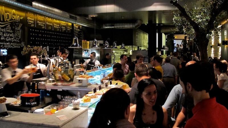 El Mercado de la Reina, restaurante en Gran Vía.