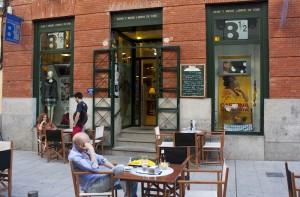 Librería Café Ocho y Medio en Madrid
