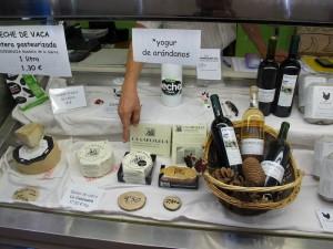 Productos ecológicos en el Mercado de San Fernando