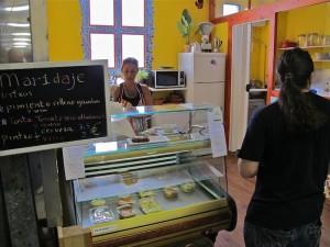 Comida para llevar en el Mercado de San Fernando