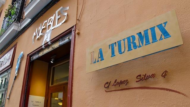 La Turmix, tienda galería en el Rastro