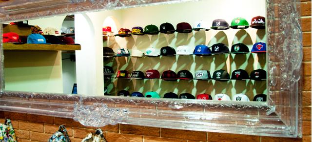 La tienda de las gorras, Madrid