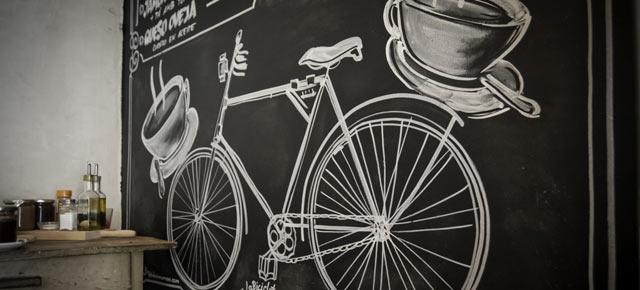 La Bicicleta, café bar en Malasaña