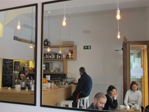 Café Carmen en el Mercado de San Fernando
