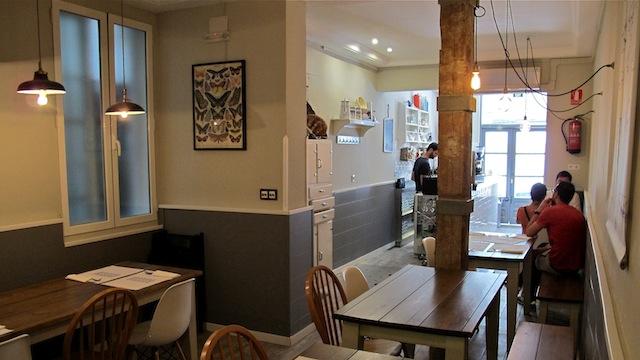 Crumb, restaurante en Conde Duque