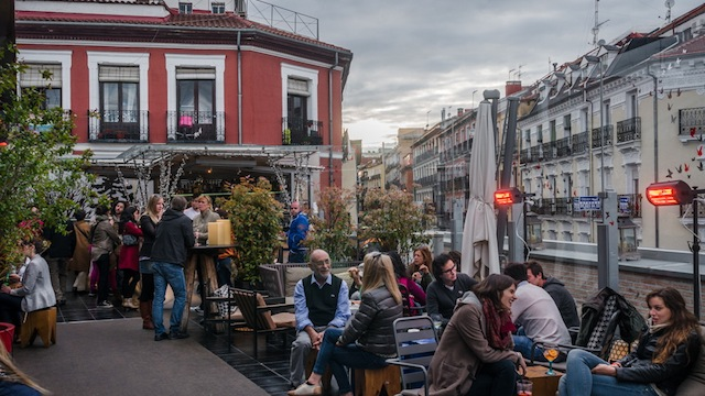 Terraza del Mercado de San Antón