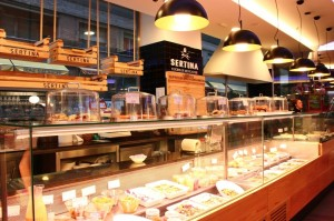 Mercado Gastronomico en la zona de Moncloa