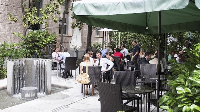 La terraza del Instituto Goethe