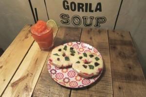 Arte urbano, bagels y smoothies en Gorila