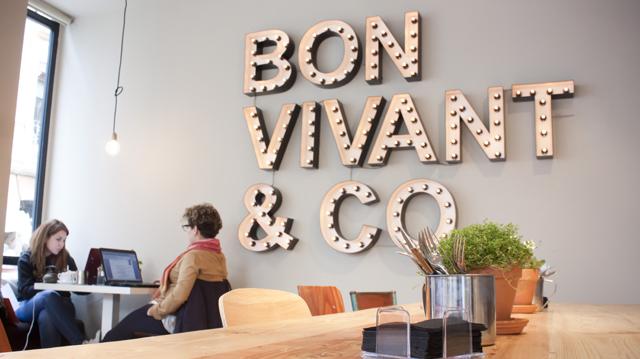 Bon Vivant, café restaurante en Chueca