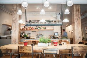 Le Coco, restaurante cafetería en Chueca