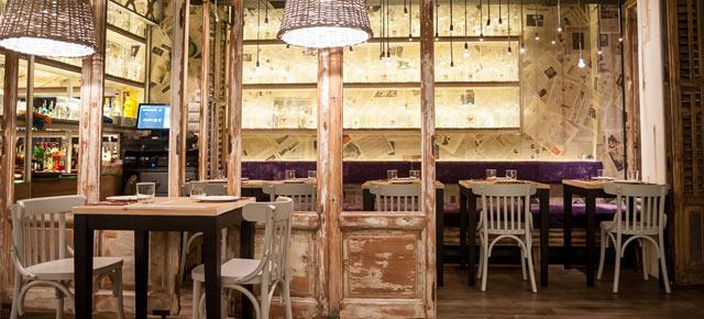 Restaurante Saporem en Chueca