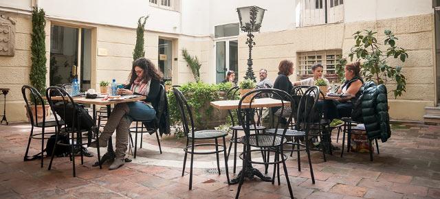 Restaurante en el Instituto Italiano de Madrid