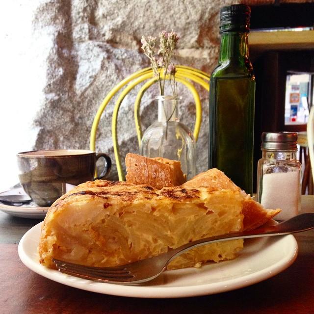 Pinchazo de tortilla el de Bar Loreto #desayunos #empiezaeldiaconalegria